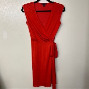 Banana republic red jersey dress.